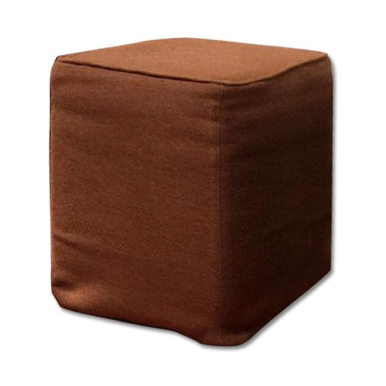 Custom Slipcovered Cube/Ottoman/Stool - image-0