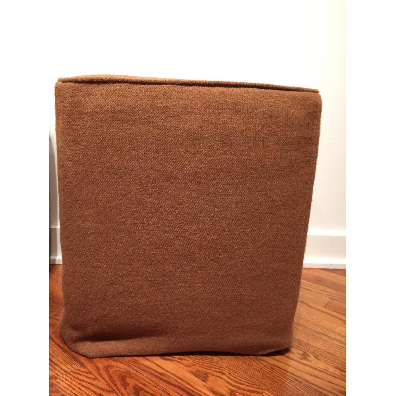 Custom Slipcovered Cube/Ottoman/Stool - image-1