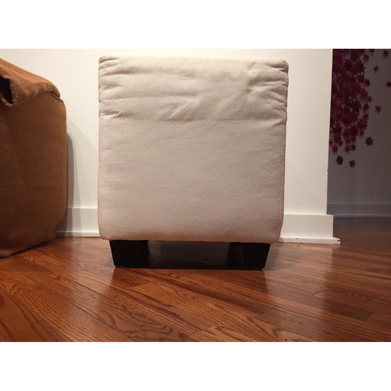 Custom Slipcovered Cube/Ottoman/Stool - image-3
