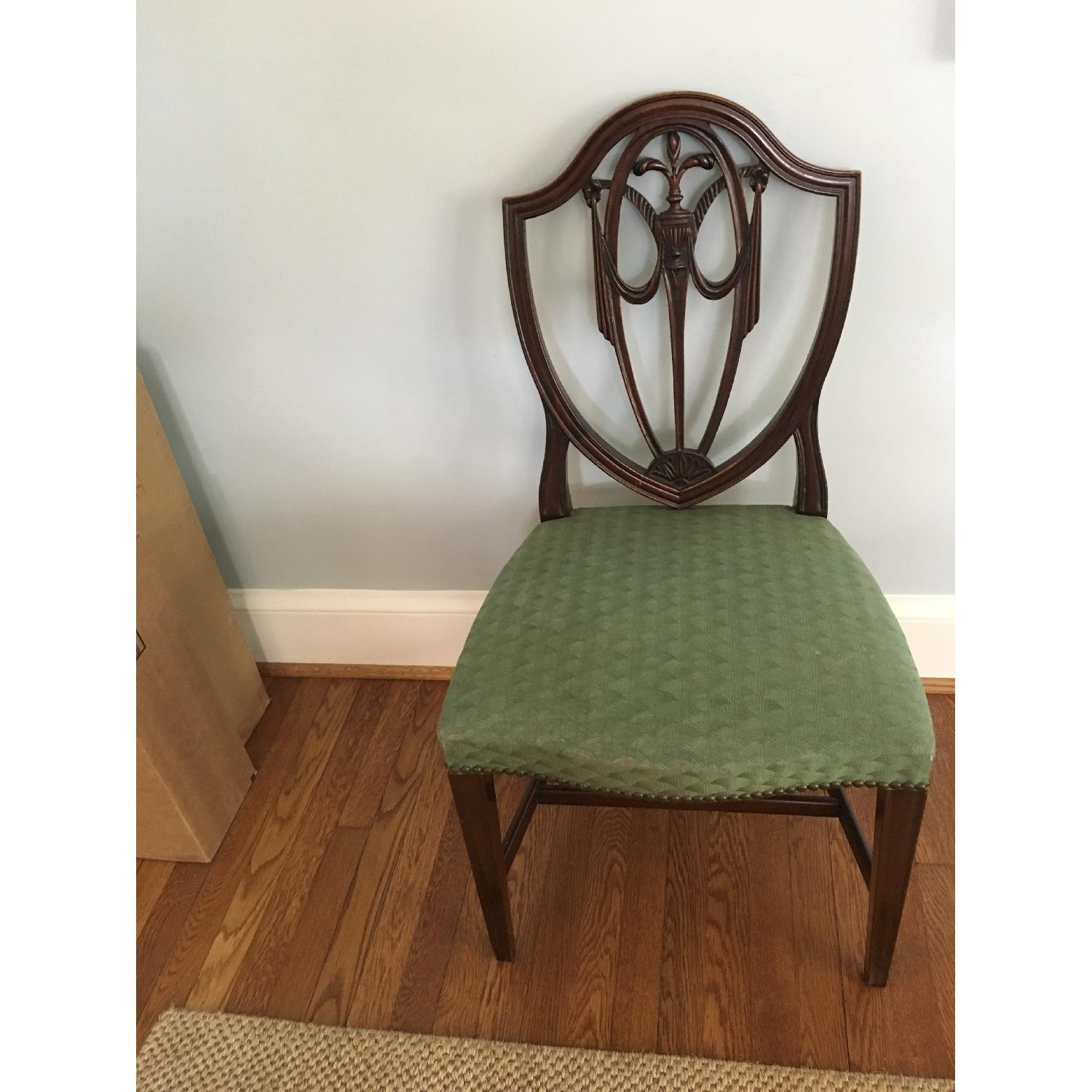 Antique Dining Chairs - Set of 6 - image-1