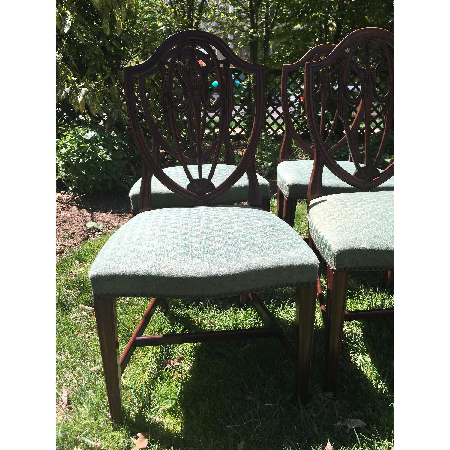 Antique Dining Chairs - Set of 6 - image-3