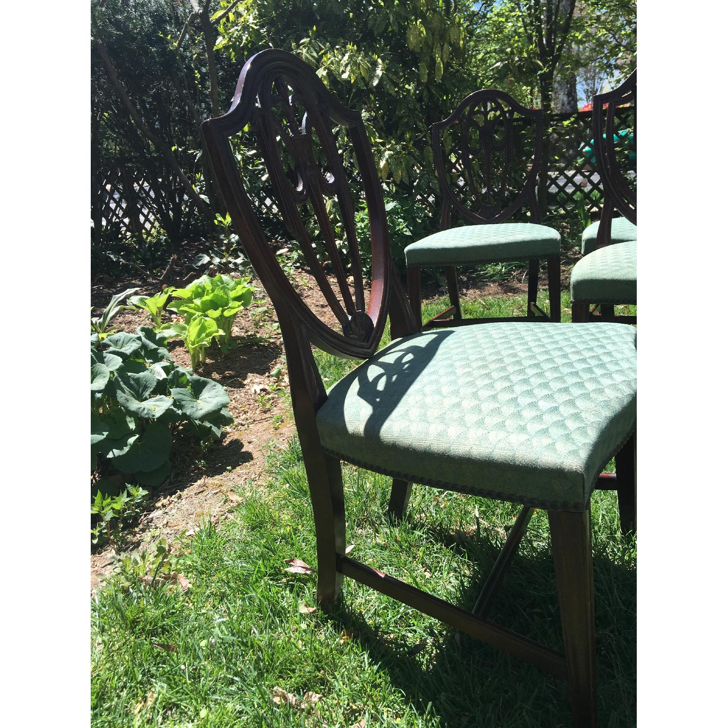 Antique Dining Chairs - Set of 6 - image-4