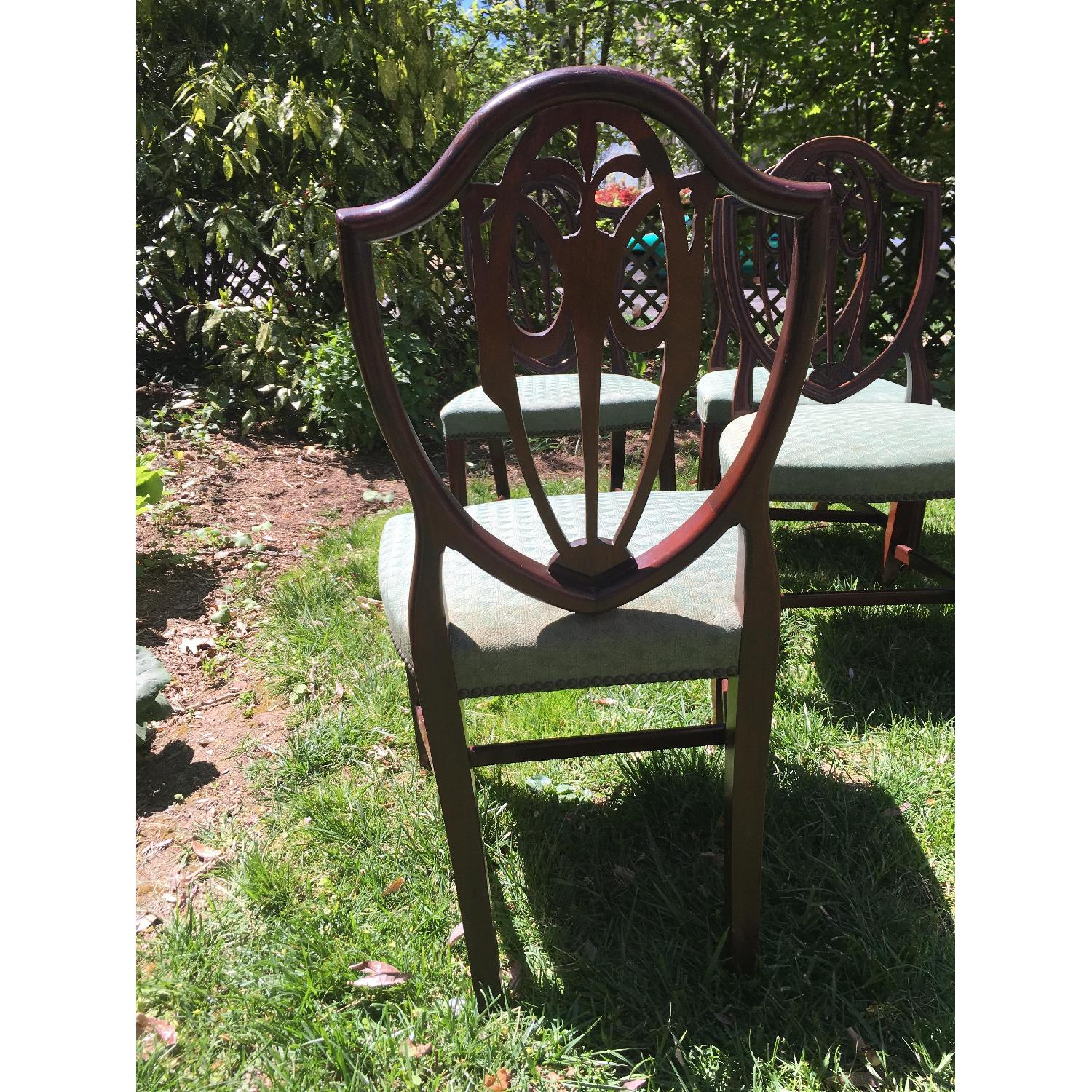 Antique Dining Chairs - Set of 6 - image-5
