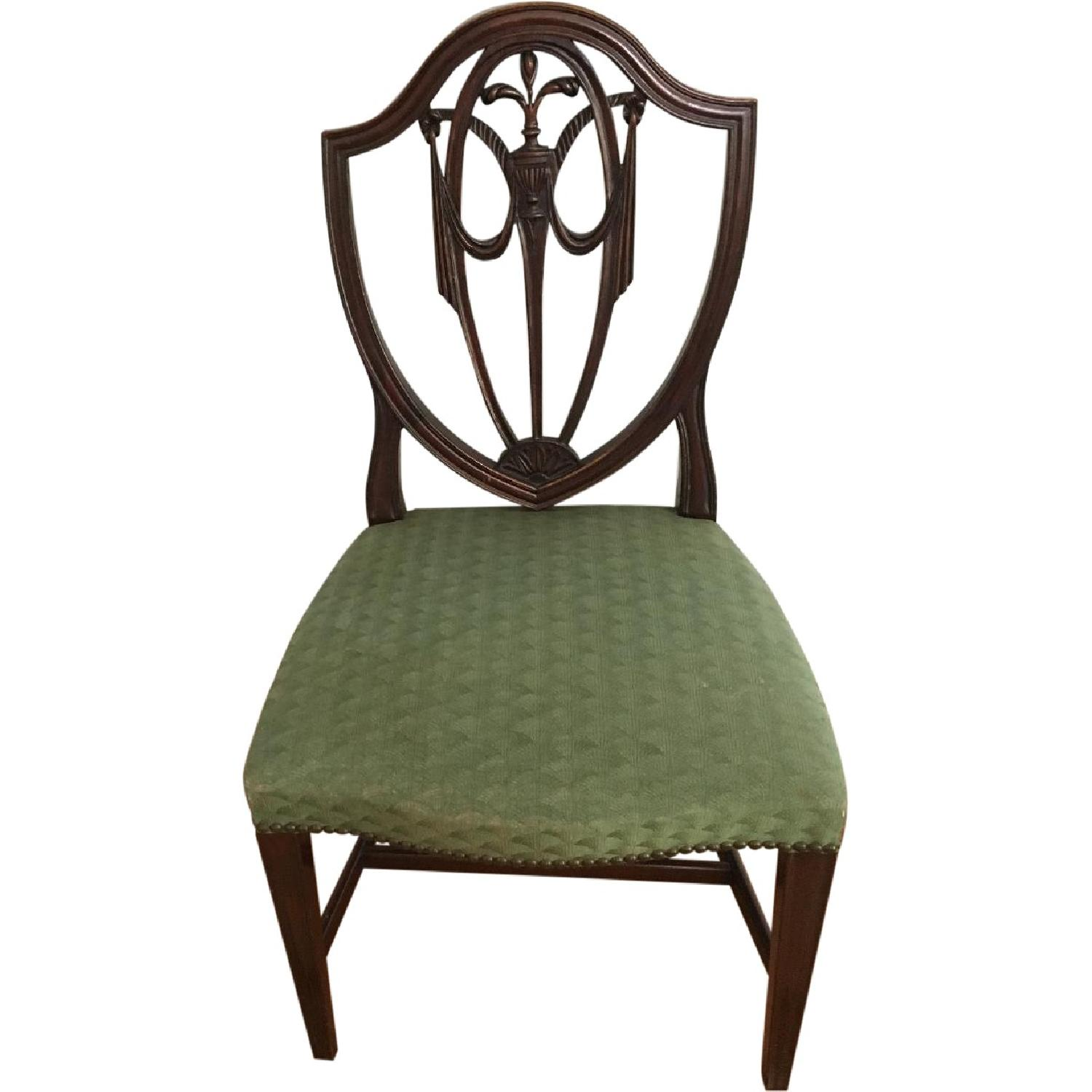 Antique Dining Chairs - Set of 6 - image-0