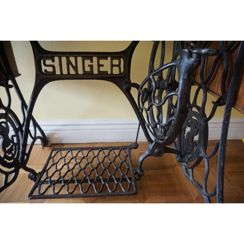 1903 Singer Sewing Machine Table - image-6