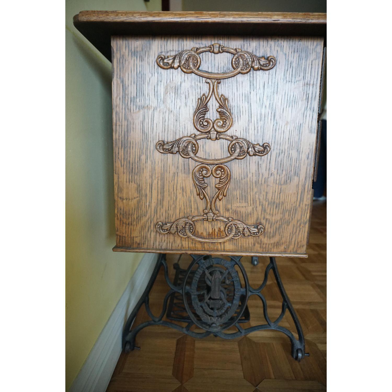 1903 Singer Sewing Machine Table - image-8