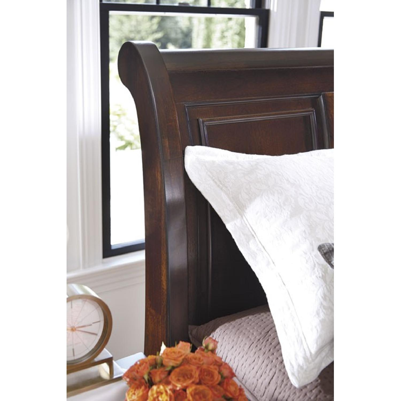 Ashley's Queen Sleigh Storage Bed - image-3