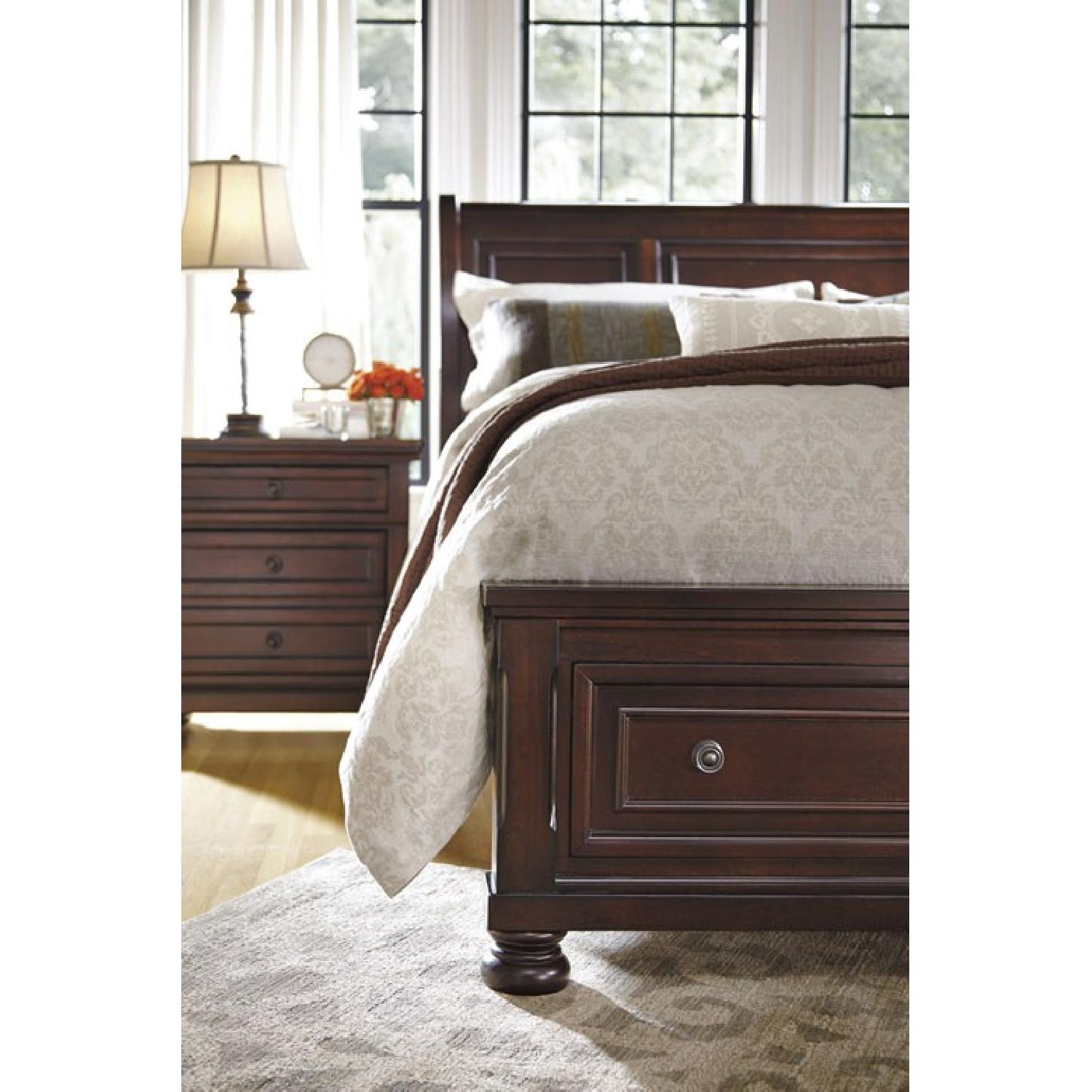 Ashley's King Sleigh Storage Bed - image-3