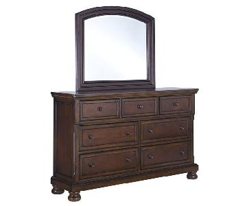Ashley's Dresser w/ Mirror