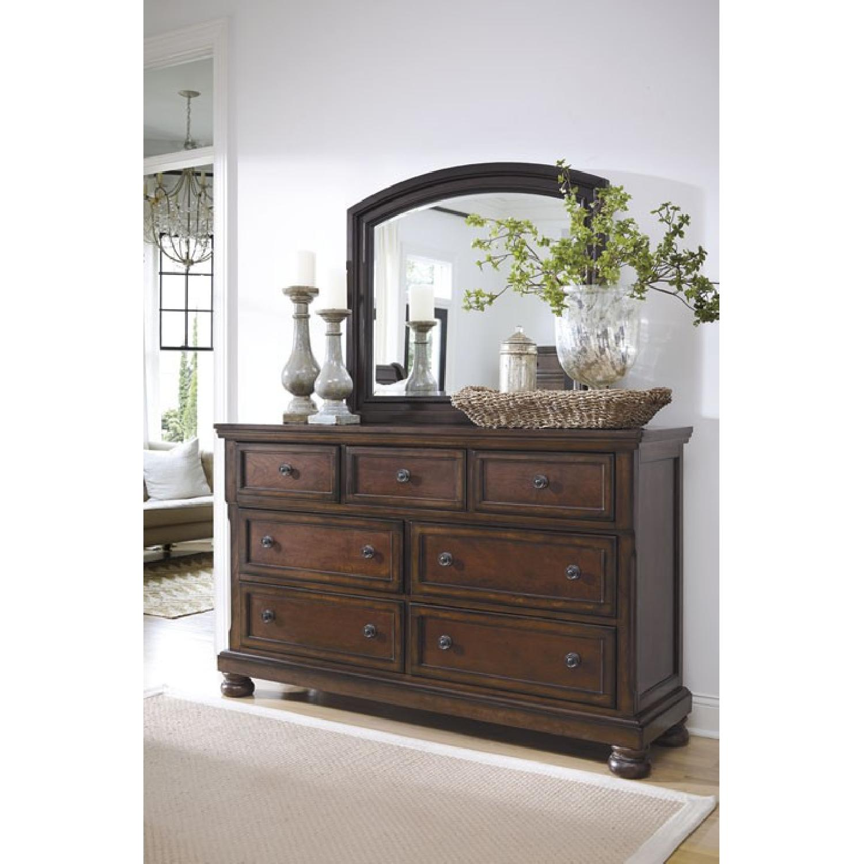 Ashley's Dresser w/ Mirror - image-1