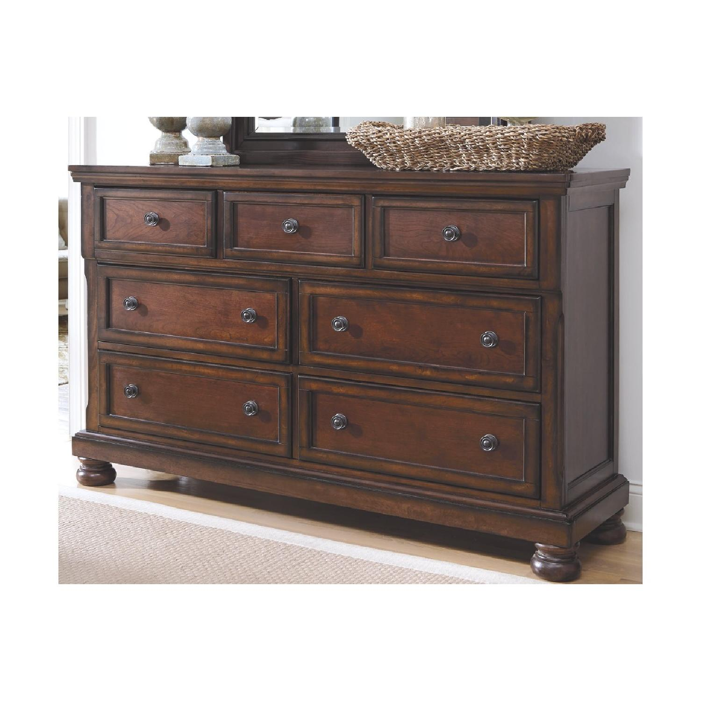 Ashley's Dresser w/ Mirror - image-2