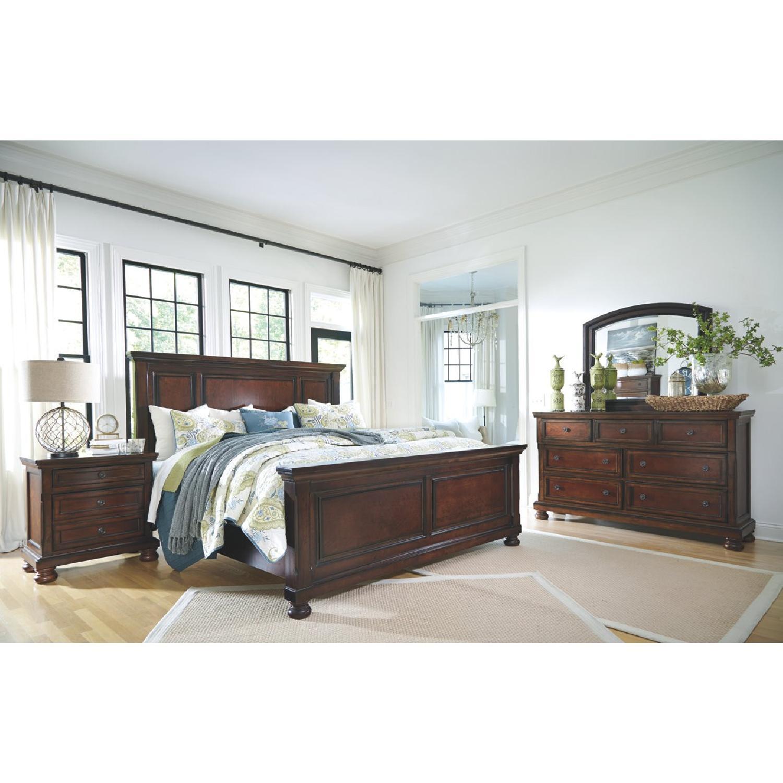 Ashley's Dresser w/ Mirror - image-3