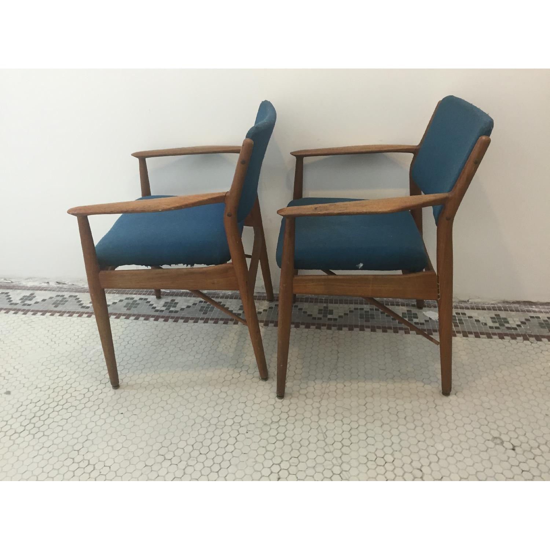 Arne Vodder Danish Mid Century Chairs - Pair - image-2
