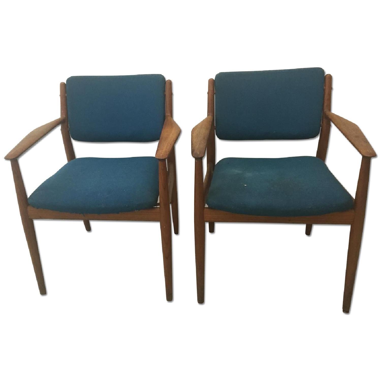 Arne Vodder Danish Mid Century Chairs - Pair - image-0