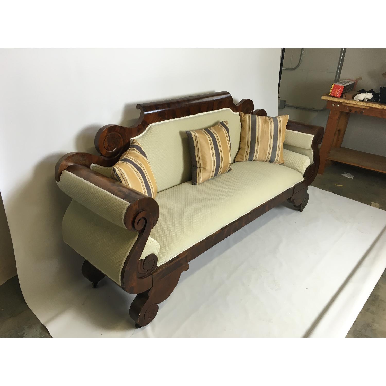 Antique Tigerwood Sofa - image-3