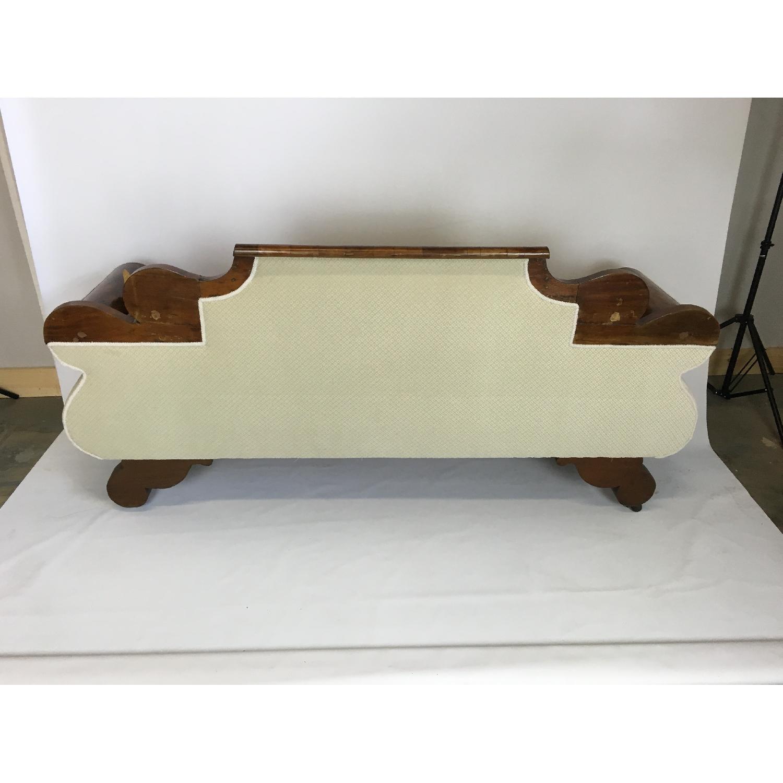 Antique Tigerwood Sofa - image-4