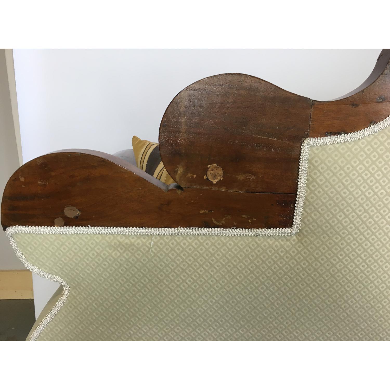 Antique Tigerwood Sofa - image-7