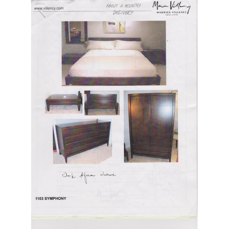 Maurice Villency Symphony King Size Bed - image-7