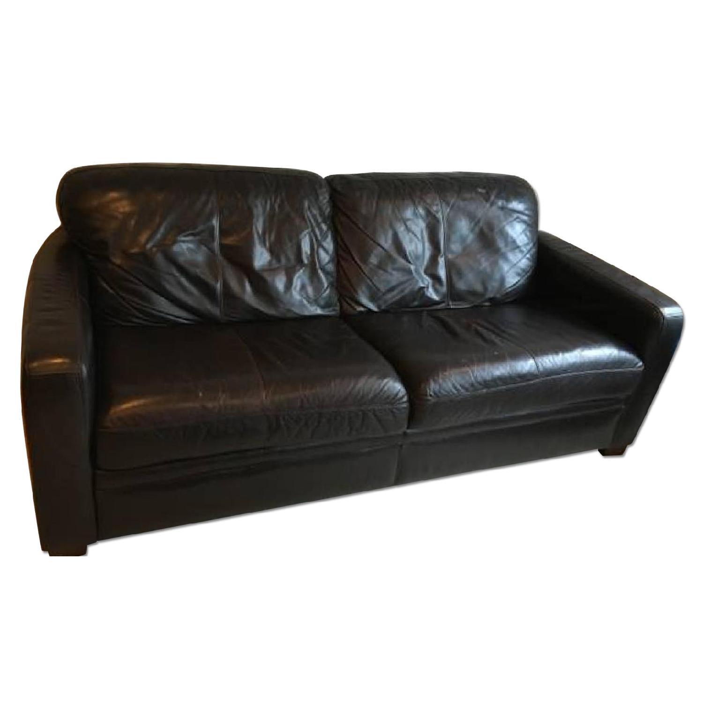 Raymour & Flanigan Leather Sofa - image-0