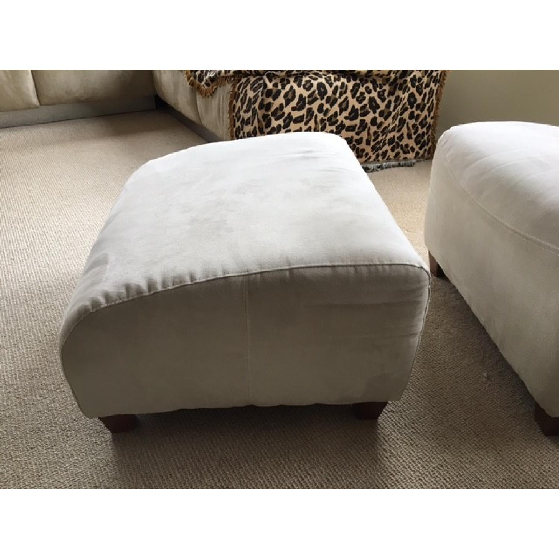 Italia Divani/Camel Group Lounge Chair & Ottoman - image-4