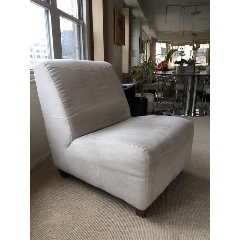 Italia Divani/Camel Group Lounge Chair & Ottoman - image-5