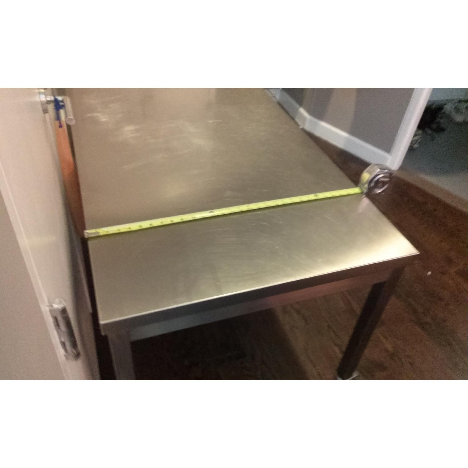Design Within Reach Quovis Stainless Steel Table - image-5