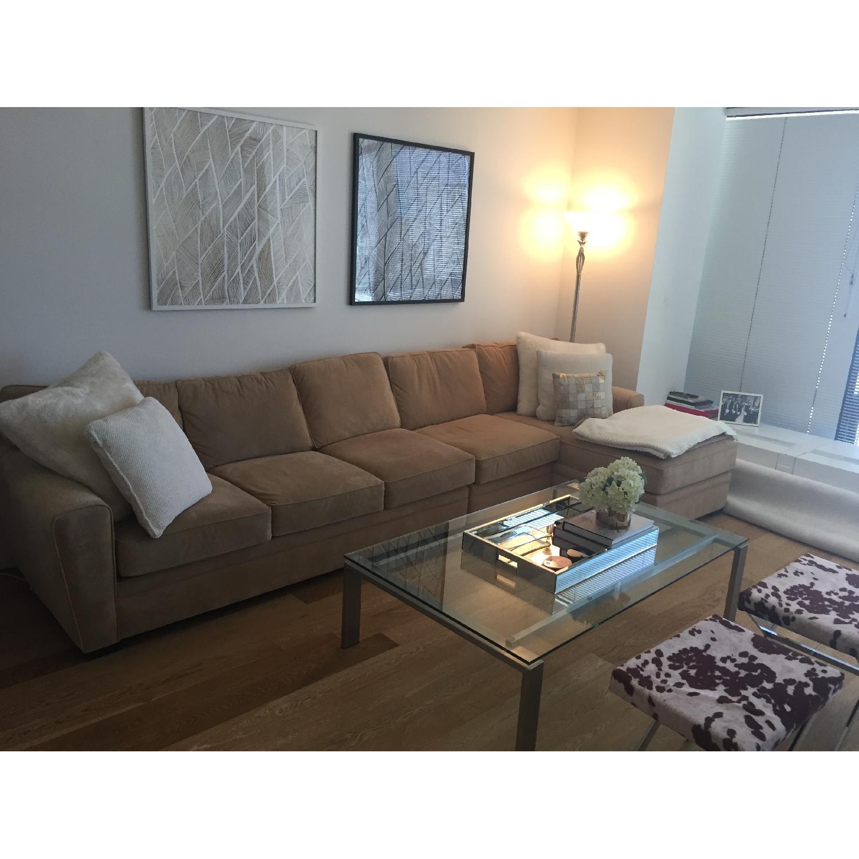 Raymour & Flanigan Sectional Sofa - image-1