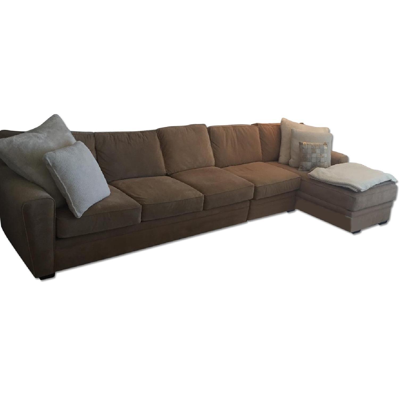 Raymour & Flanigan Sectional Sofa - image-0