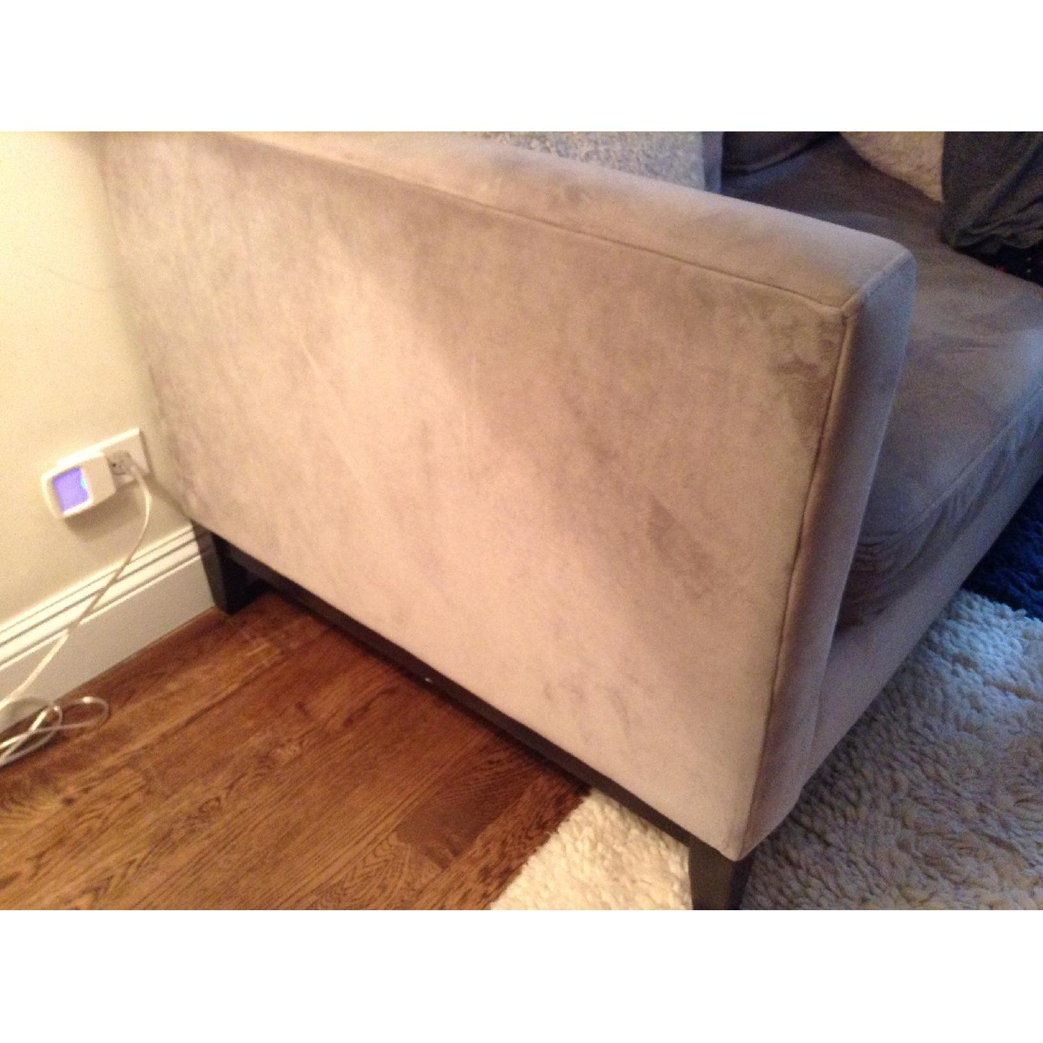 West Elm Blake Sectional Sofa w/ Chaise - image-3