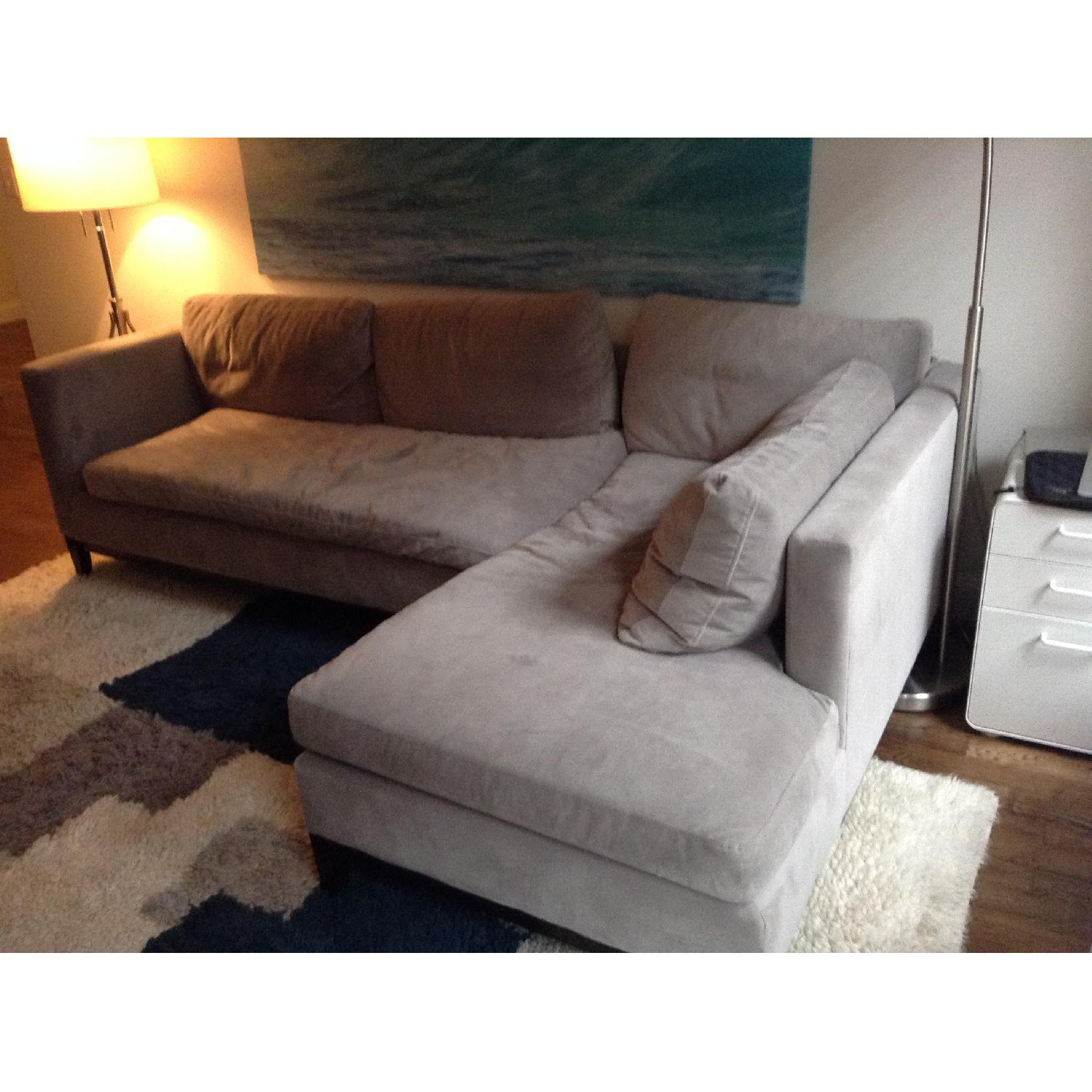 West Elm Blake Sectional Sofa w/ Chaise - image-4