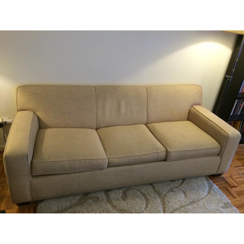 Crate & Barrel Cameron Sleeper Sofa - image-1
