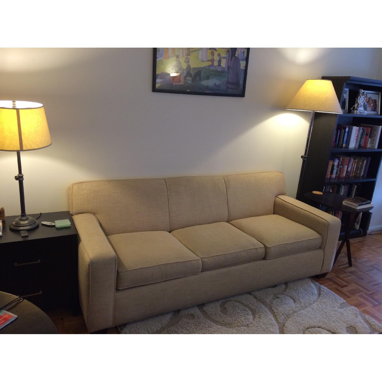 Crate & Barrel Cameron Sleeper Sofa - image-5