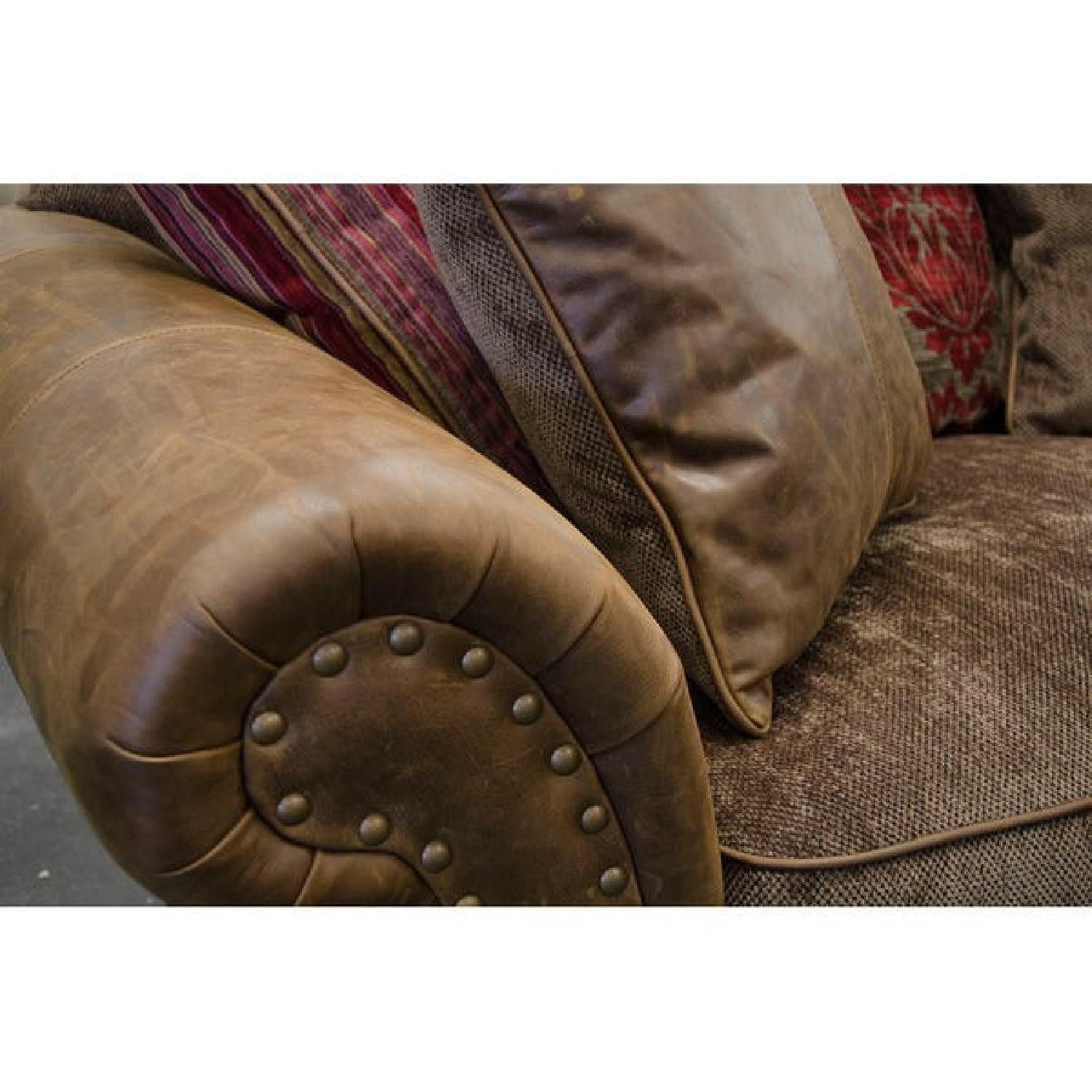 Victorian-Inspired Leather Sofa - image-2