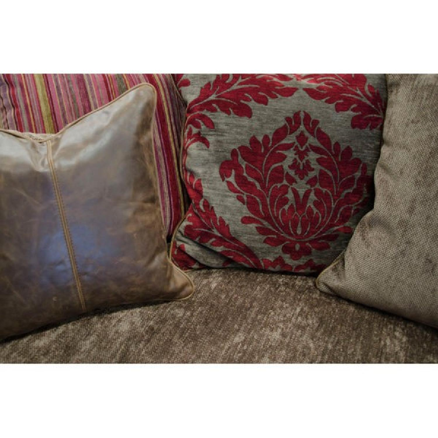 Victorian-Inspired Leather Sofa - image-3