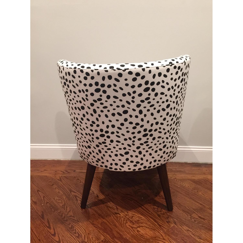 Skyline Furniture Togo Black & White Armless Chair - 2 Avail - image-1