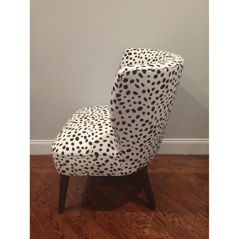 Skyline Furniture Togo Black & White Armless Chair - 2 Avail - image-4