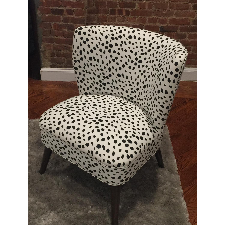 Skyline Furniture Togo Black & White Armless Chair - 2 Avail - image-5