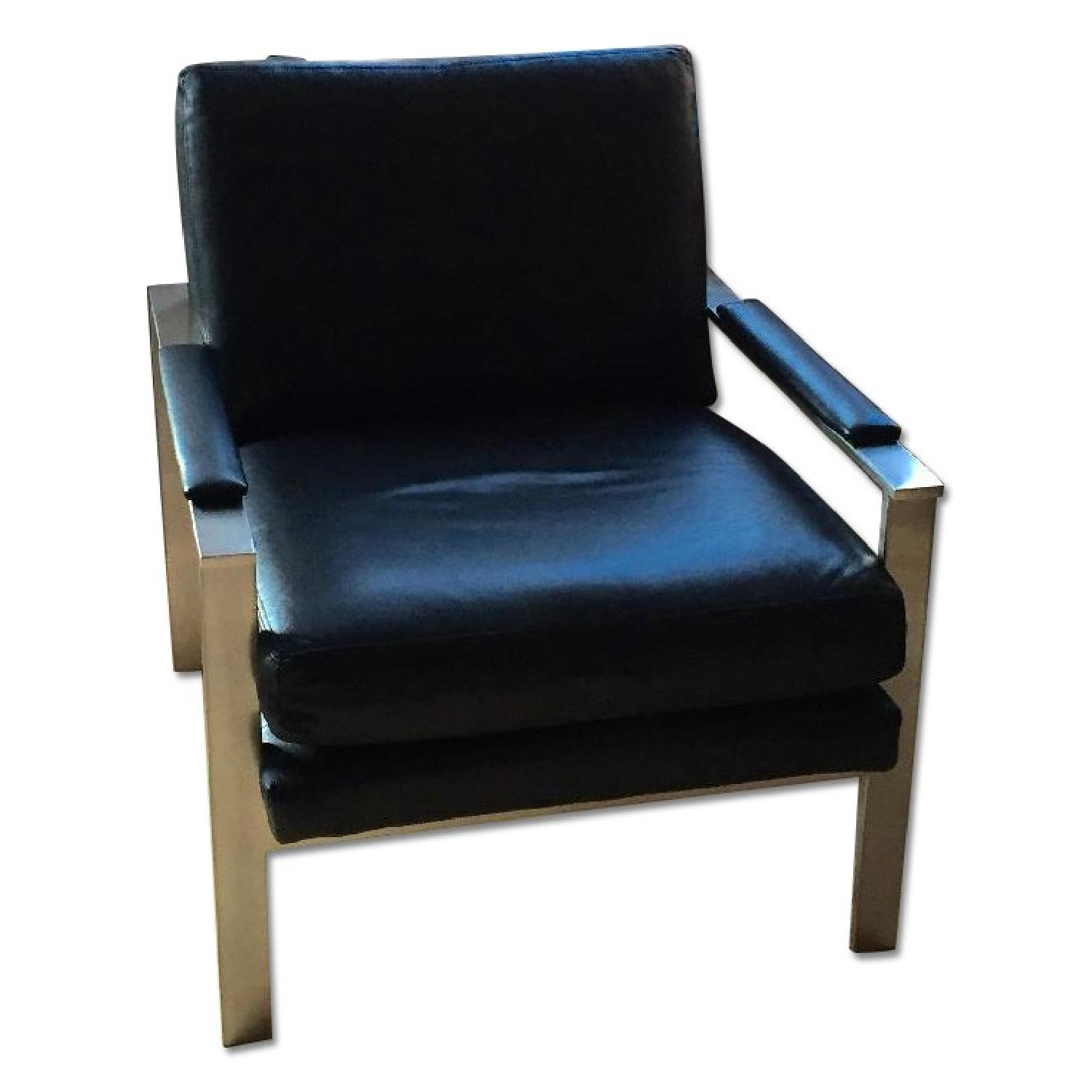 Ethan Allen Jericho Leather Chair - image-0