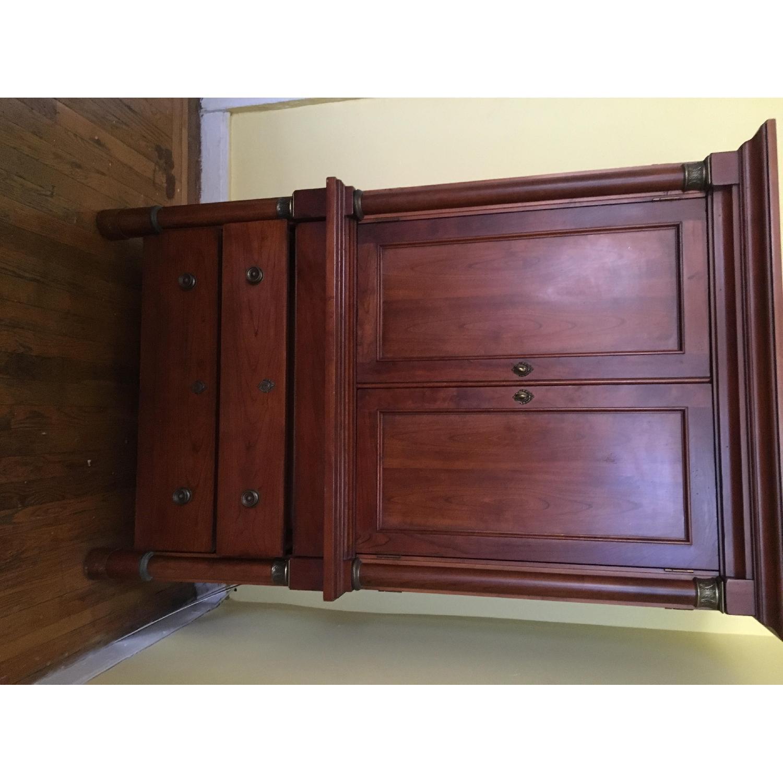Lexington Cherry Wood Storage Unit - image-1