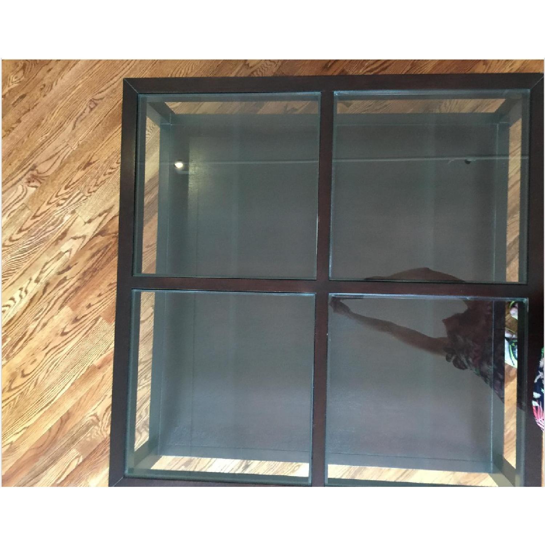 ABC Carpet & Home Oak Coffee Table w/ Shelves - image-3
