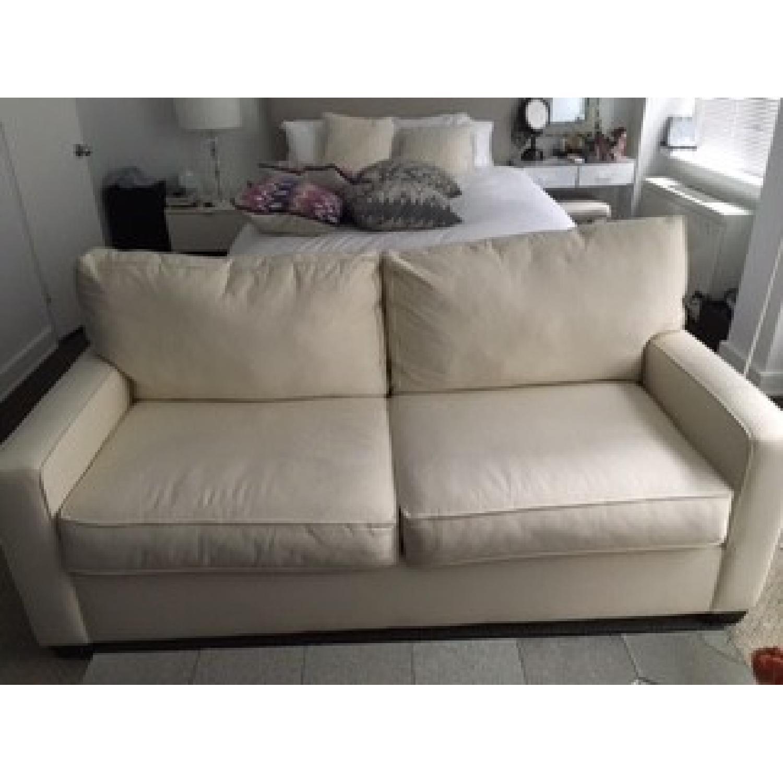 Pottery Barn Buchanan Square Arm Upholstered Sofa - image-5