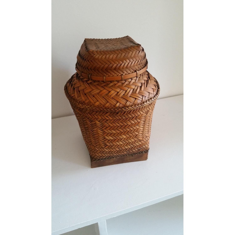 Antique Filipino Basket - image-1