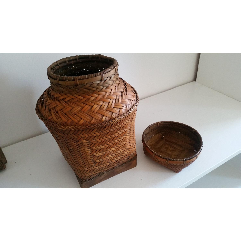 Antique Filipino Basket - image-2