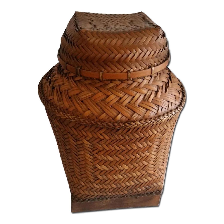 Antique Filipino Basket - image-0