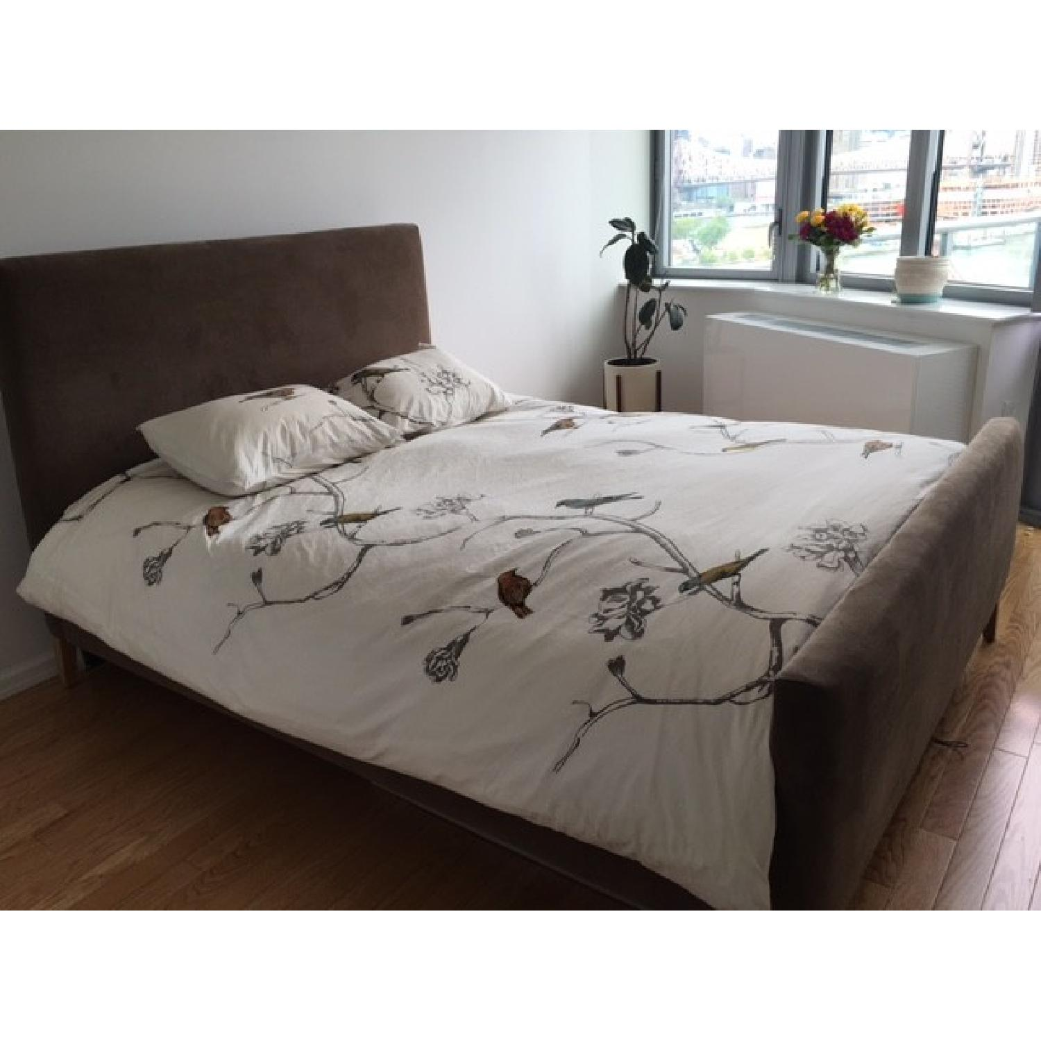 Room & Board Queen Size Bed Frame - image-1