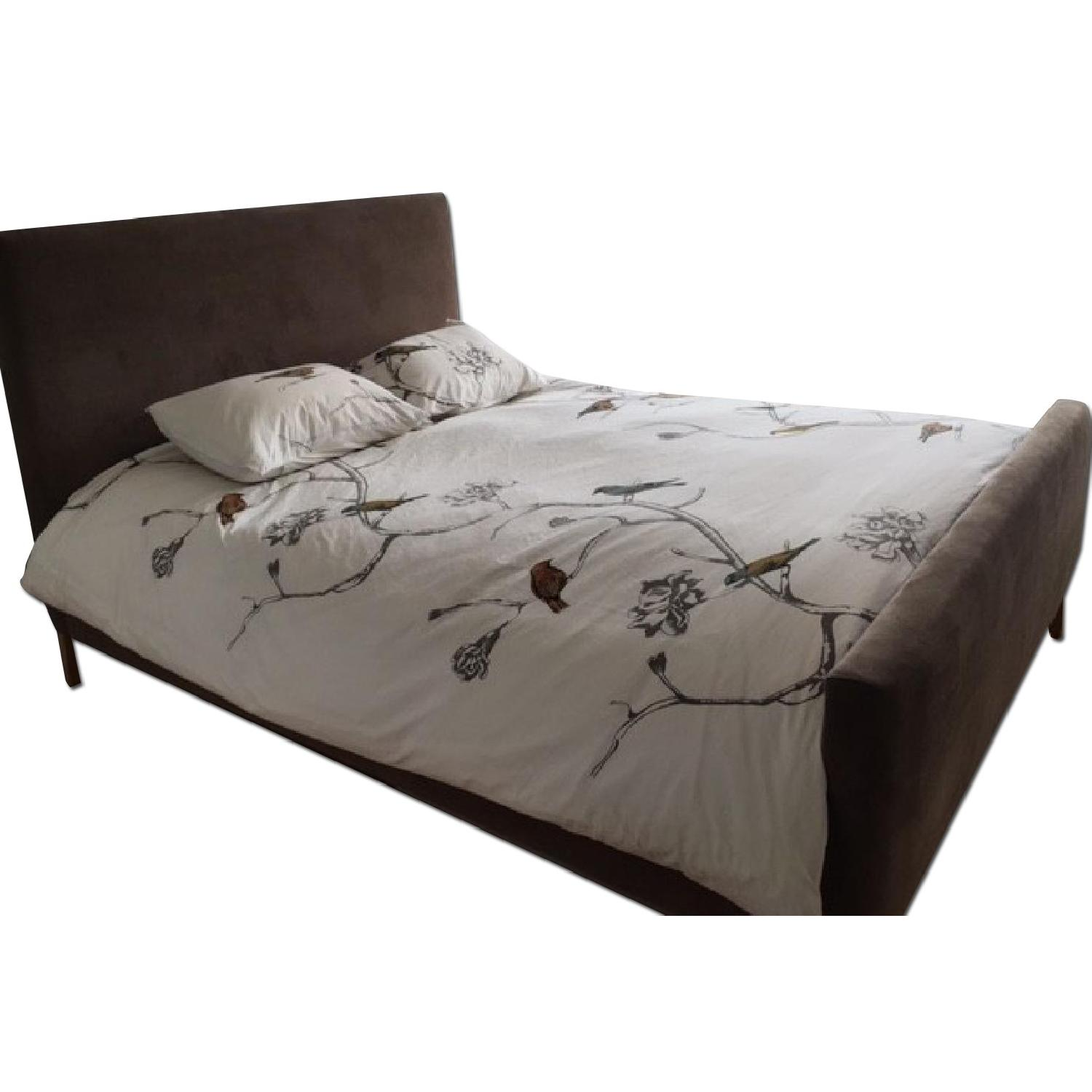 Room & Board Queen Size Bed Frame - image-0