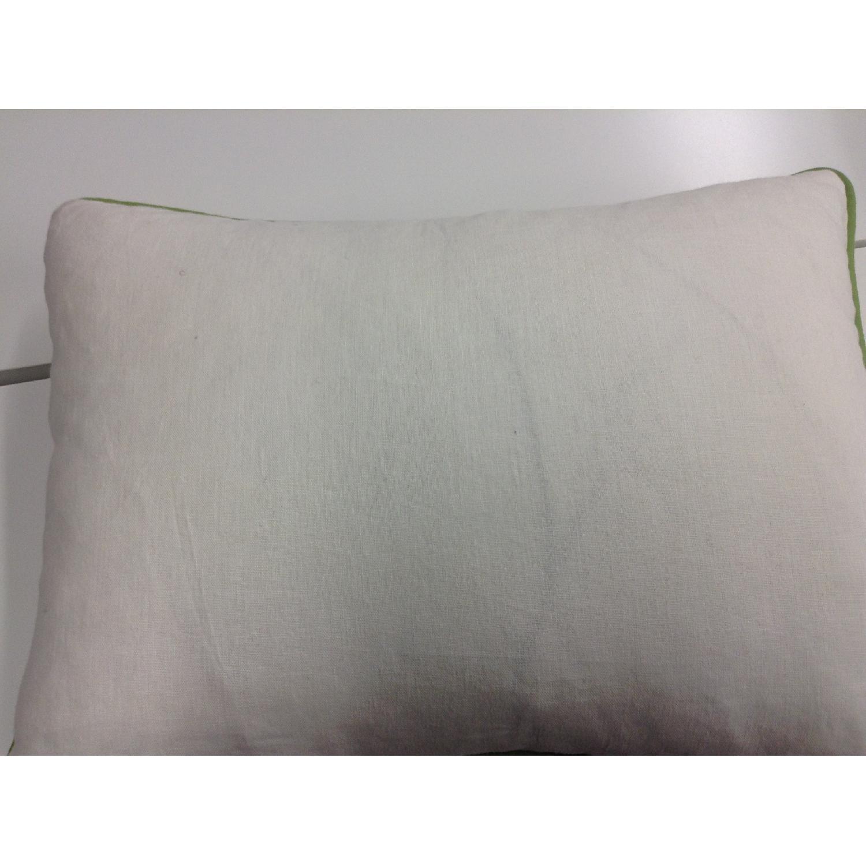 Bettertex Interiors Design Shumacher Pagoda Fabric Decorative Pillows - Pair - image-2