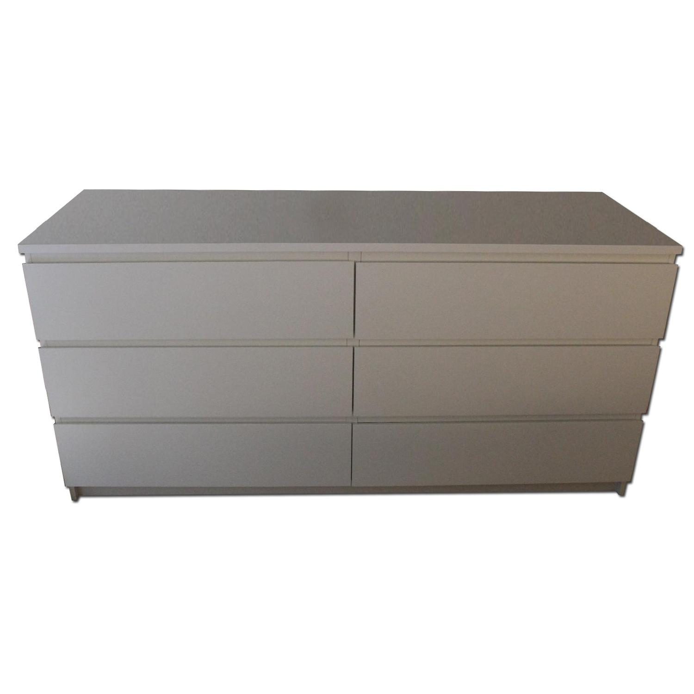 Ikea Malm 6-Drawer Dresser - image-0