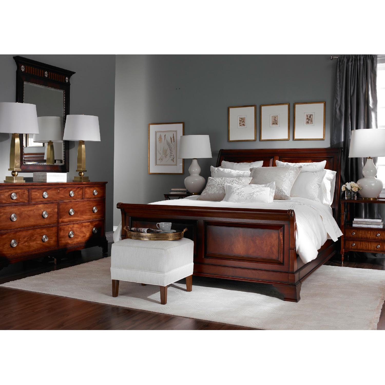 Ethan Allen Queen Size Sleigh Bed - image-1