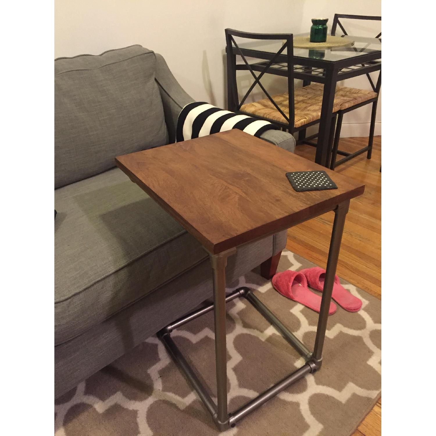 West Elm Pipe Side C-Table - image-2